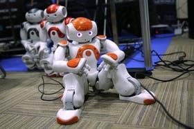 Nao, los robots de la firma francesa Aldebaran que forma parte de la compañía japonesa Softbank