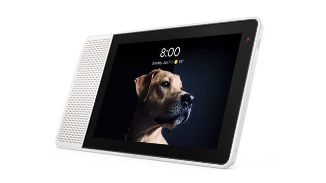 El Lenovo Smart Display funciona como destino de Chromecast; admite videollamadas y la cámara frontal se puede bloquear con una perilla