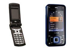 Dos modelos 3G: el LG MU500 y el Nokia N81