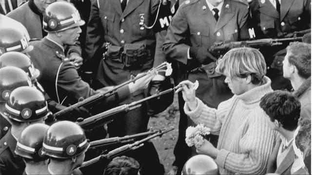Los movimientos pidiendo el fin de la guerra en EE.UU crecieron de manera exponencial en los 60