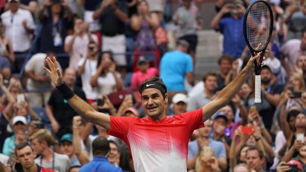 Federer otra vez necesitó cinco sets