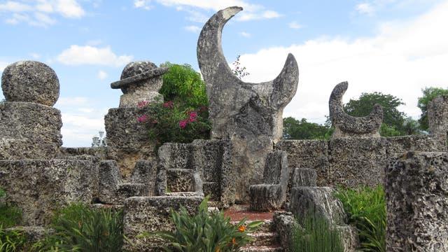 Coral Castle, un parque de esculturas de roca coralina a 50 km de Miami