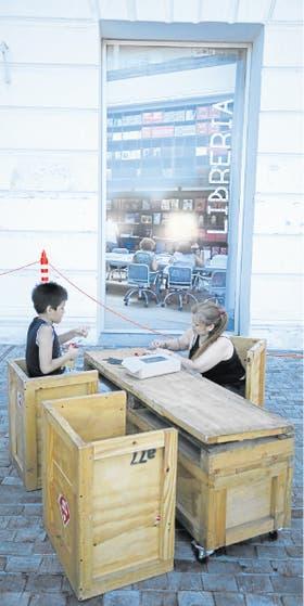 Juego y actividades plásticas, la propuesta del Centro Nómade