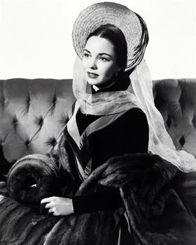 Jennifer Jones como Madame Bovary en el film dirigido por Vincente Minnelli