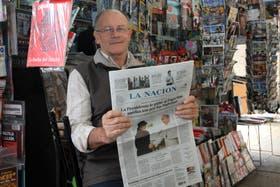 Luis del Regno, el quiosquero de Bergoglio