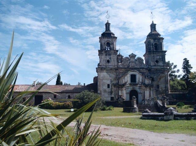 La iglesia barroca de la estancia Santa Catalina, en Ascochinga