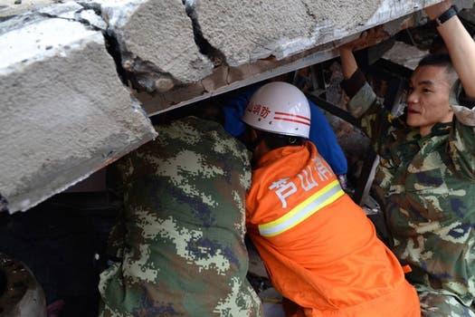 Las tareas de rescate no cesan.