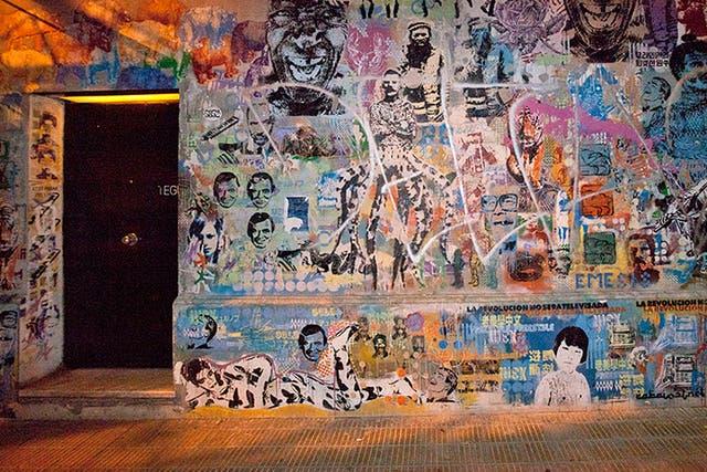La fachada del palermitano Tegui