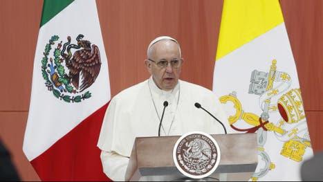 El papa Francisco envió un duro mensaje a clase política y líderes religiosos en México