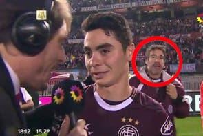 Perlitas: la reacción del jugador que perdió la medalla y Nino Dolce se infiltró en la cancha