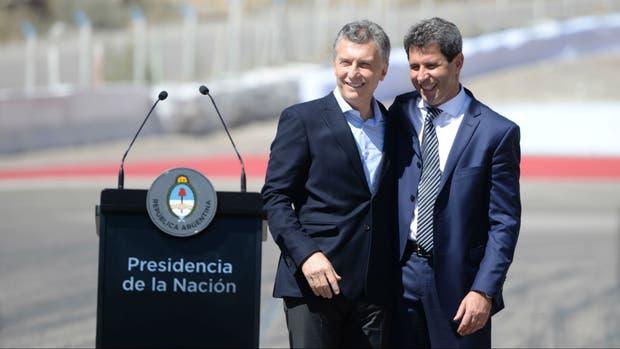 Mauricio Macri estuvo hoy con el gobernador peronista Sergio Uñac