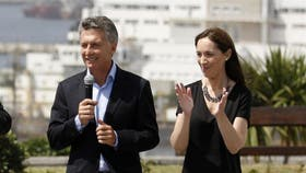 Mauricio Macri y María Eugenia Vidal