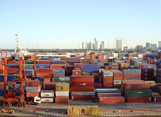 En 2008, el Puerto de Buenos Aires vivió un año récord, con casi dos millones de TEU