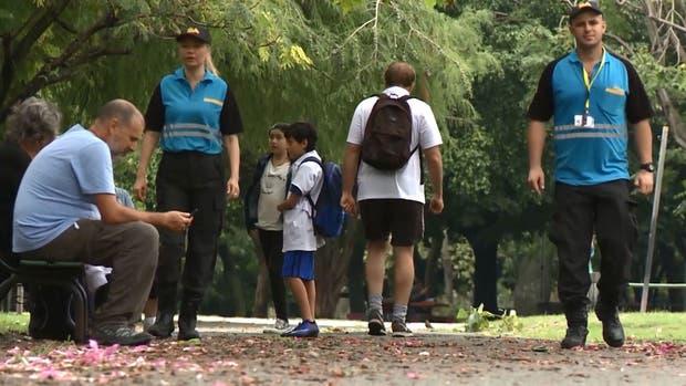 A fin de año habrá Senderos Escolares en el 85% de los colegios porteños