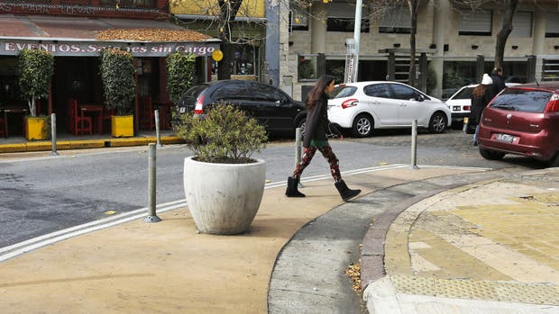 Villa Devoto: intervención peatonal que reduce espacios para autos y prioriza espacios para peatones