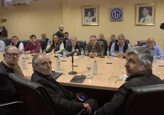 Casaretto y Schmid encabezaron la reunión en la CGT
