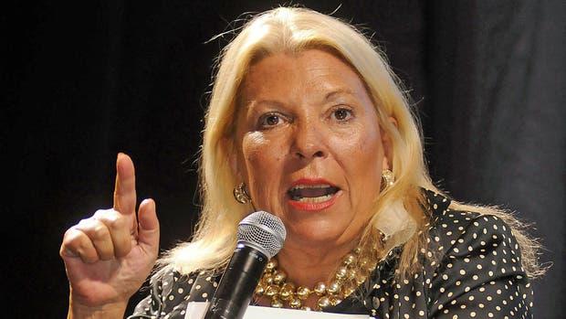 Elisa Carrió pedirá que se investiguen los supuestos vínculos del jefe de la AFI con el Lava Jato