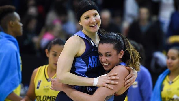 AmeriCup femenina: Argentina venció a Brasil y se adjudicó el grupo A