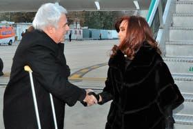 De la Sota recibió ayer a Cristina Kirchner, antes del acto por el aniversario de la UNC