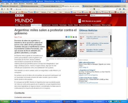 BBC Mundo, de Gran Bretaña.