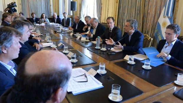 La Mesa Foresto industrial en el encuentro hoy con Macri