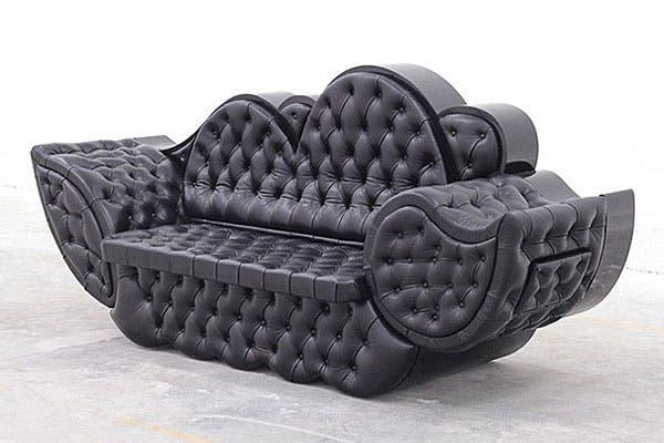 ¿Pondrías en tu living este sillón con forma de nube?. Foto: Decoesfera.com