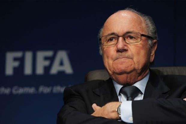 Joseph Blatter apuntó contra Estados Unidos e Inglaterra