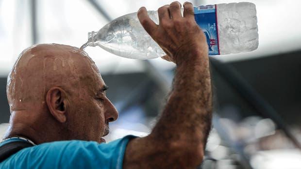Una ola de calor agobia a Buenos Aires