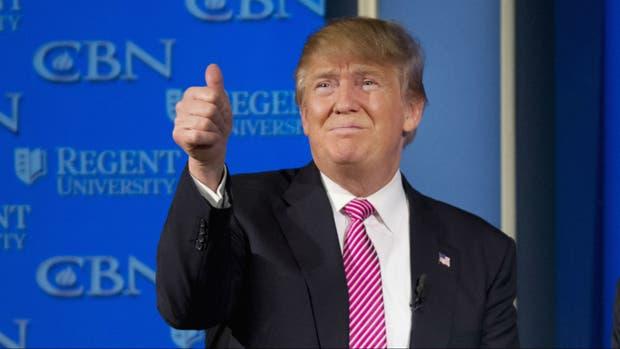 Trump, contento con los resultados en Nevada
