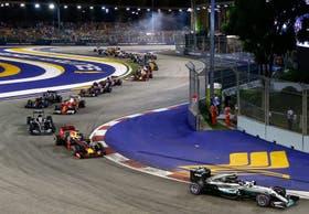 Rosberg celebró en Singapur: es el nuevo líder del campeonato
