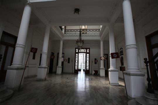 El edificio que alberga toda la historia del Regimiento de Granaderos está ubicado en pleno barrio de Palermo. Foto: LA NACION / Guadalupe Aizaga