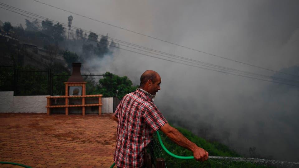 Incendio en Portugal: las llamas no ceden y las cenizas comienzan a cubrir todo. Foto: Reuters / Patricia de Melo Moreira