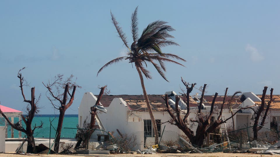 Las tareas de evaluación de daños y evacuación de personas comenzaron en la isla de Saint Martin, tras el trágico paso del huracán Irma. Foto: Reuters