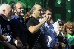 El secretario general de ATE-Capital Federal, José Luis Matassa, cuestionó el accionar de la Metropolitana
