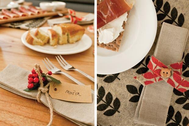 La comida elegida para esta reunión de amigas sigue la tendencia del espacio: es artesanal, no exagera en las cantidades y se destaca por su belleza..