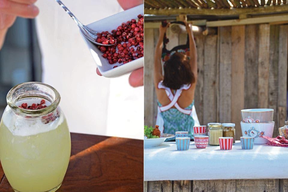 Sabor, perfume, color, música. Bases simples realzadas con detalles poderosos.  Foto:Living /Eugenia Daneri