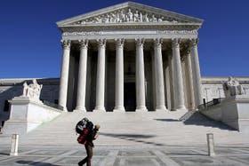El edificio de la Corte Suprema de EE.UU., donde el Gobierno deposita sus esperanzas