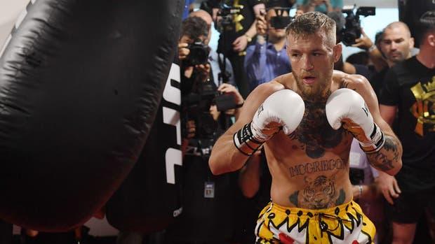 McGregor se tiene fe ante Mayweather
