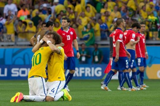 Con justo Brasil pasa a Octavos. Foto: LA NACION / Juan López / Enviado especial