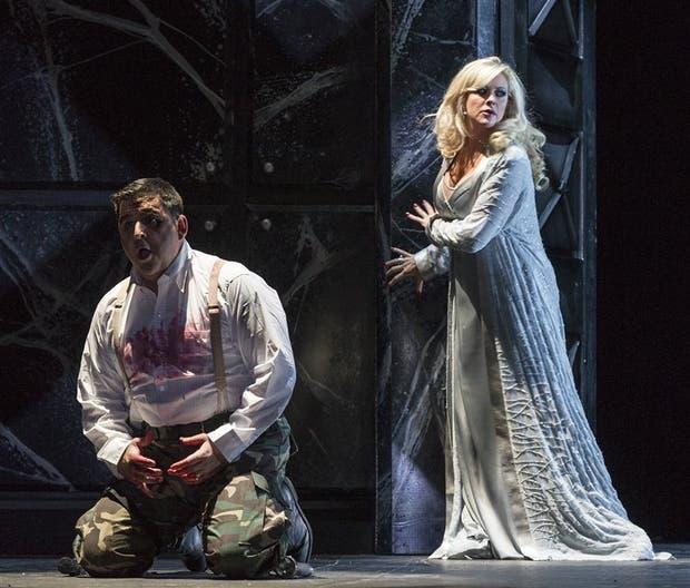 Una escena de Macbeth