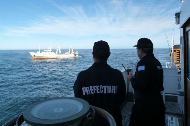 La autoridad de Pesca está elaborando un sumario que comprobará si son ciertas las infracciones de las que se lo acusa al barco español