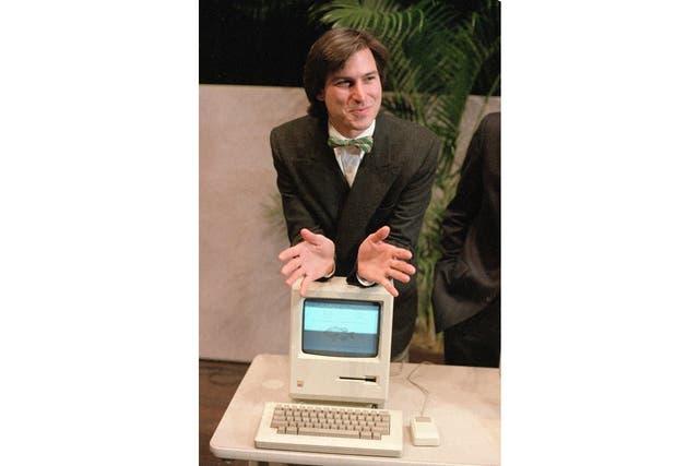 El lanzamiento de la Macintosh en 1984