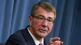 Ashton Carter, Secretario de Defensa de los Estados Unidos, la semana última