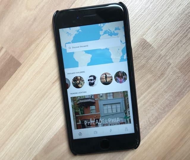 Sherpa es una guía de viajes basada en las fotos de Instagram