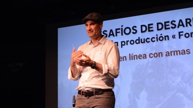 Pablo Toscano, de Ubisoft
