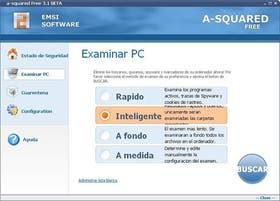 A-squared, una aplicación gratis que busca spyware en el disco rígido de nuestra computadora