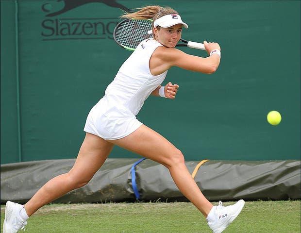 Nadia Podoroska quedó eliminada en primera ronda de la qualy