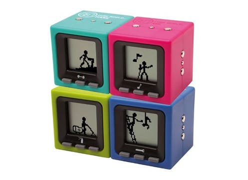 Cada Cube World tiene sus juegos, que se multiplican cuando se conectan a otros. $179.99, en jugueterías Tío Tom, Apio Verde, y otras. Foto: lanacion.com