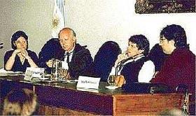 Marcela Garriga, Daniel Yoffe, Fernando Frydman y Félix Bombarolo