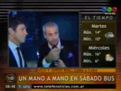 Nico y Rial, después del cara a cara (Televisión.com.ar)